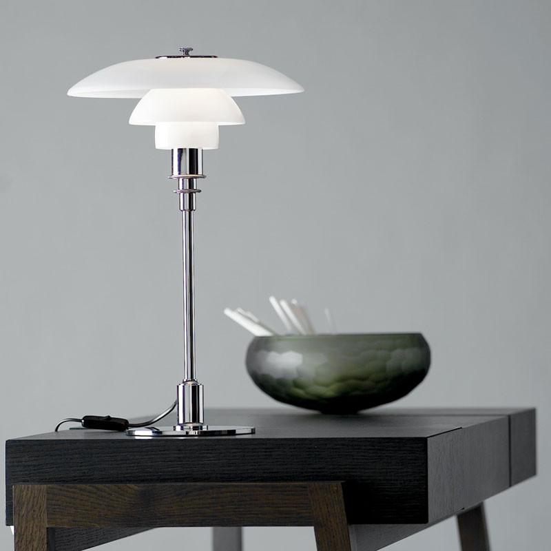 ph 3 2 bordlampe klassisk og elegant dansk design. Black Bedroom Furniture Sets. Home Design Ideas