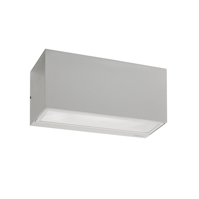 Asker Up/Down Utendørs Vegglampe 22,5 cm Alu - Norlys