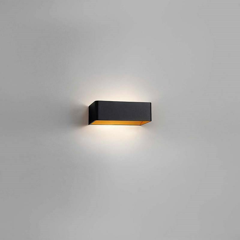 Mood 2 LED Vegglampe Svart/Gull - LIGHT-POINT LIGHTPOINT