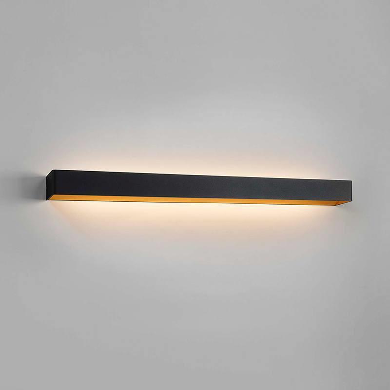 Mood 4 LED Vegglampe Svart/Gull - LIGHT-POINT LIGHTPOINT
