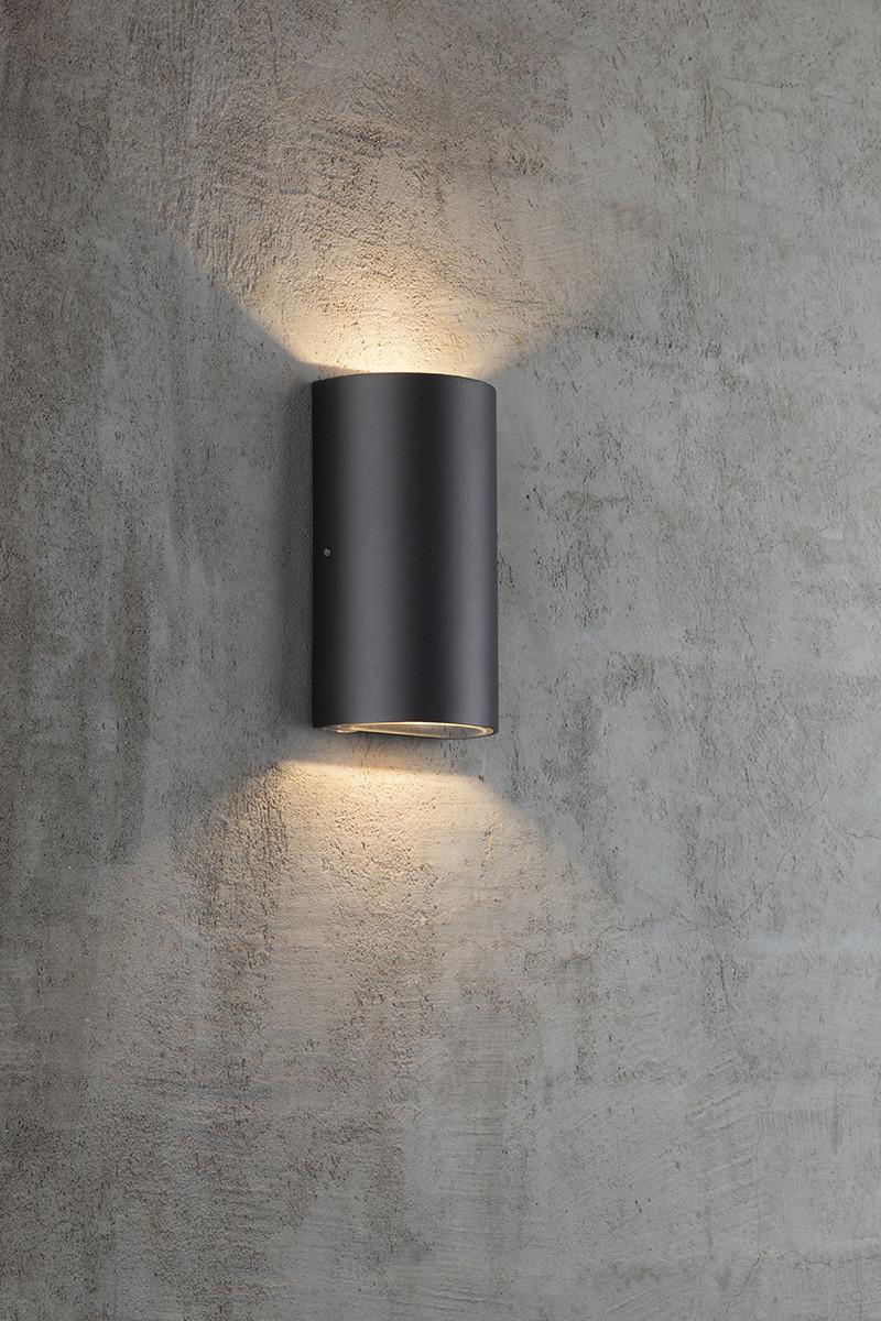Nordlux Rold Udendørs Væglampe - Rold Round Udendors LED V u00e6glampe Nordlux u2013 Kob online