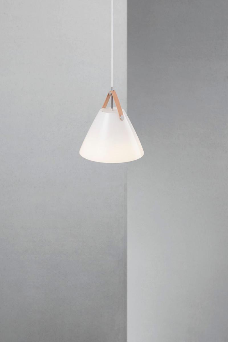 strap 27 pendel lampe opal glas nordlux k b online designlite. Black Bedroom Furniture Sets. Home Design Ideas