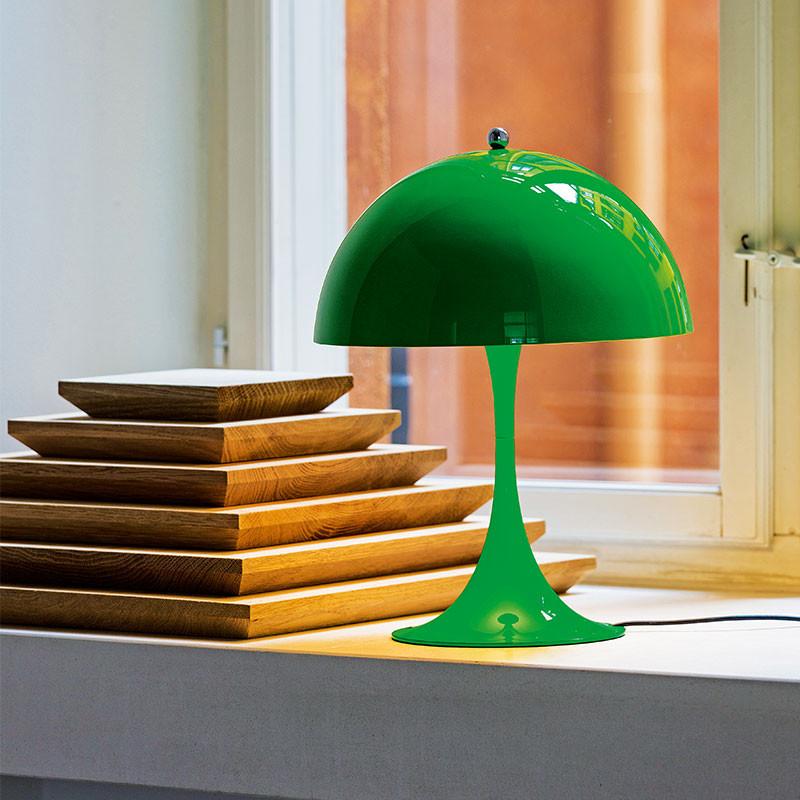 panthella mini gul gr n louis poulsen k b online designlite. Black Bedroom Furniture Sets. Home Design Ideas