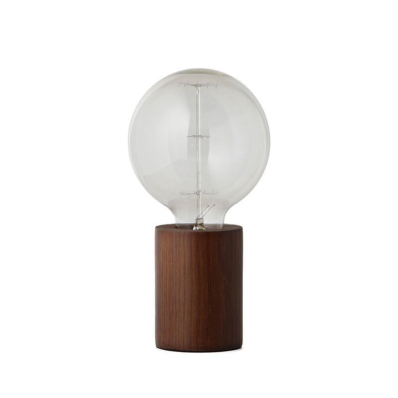 Storslået Bristol Bordlampe Mørk Træ - Frandsen BQ87