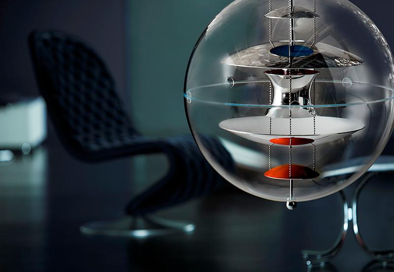 Globe Pendel lampe design Verner Panton u2013 Kob online