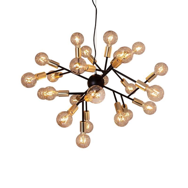 hero pendel lampe sort messing by ryd ns k b online designlite. Black Bedroom Furniture Sets. Home Design Ideas