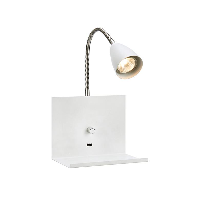 Logi Wall White Væglampe - Markslöjd MARKSLÖJD