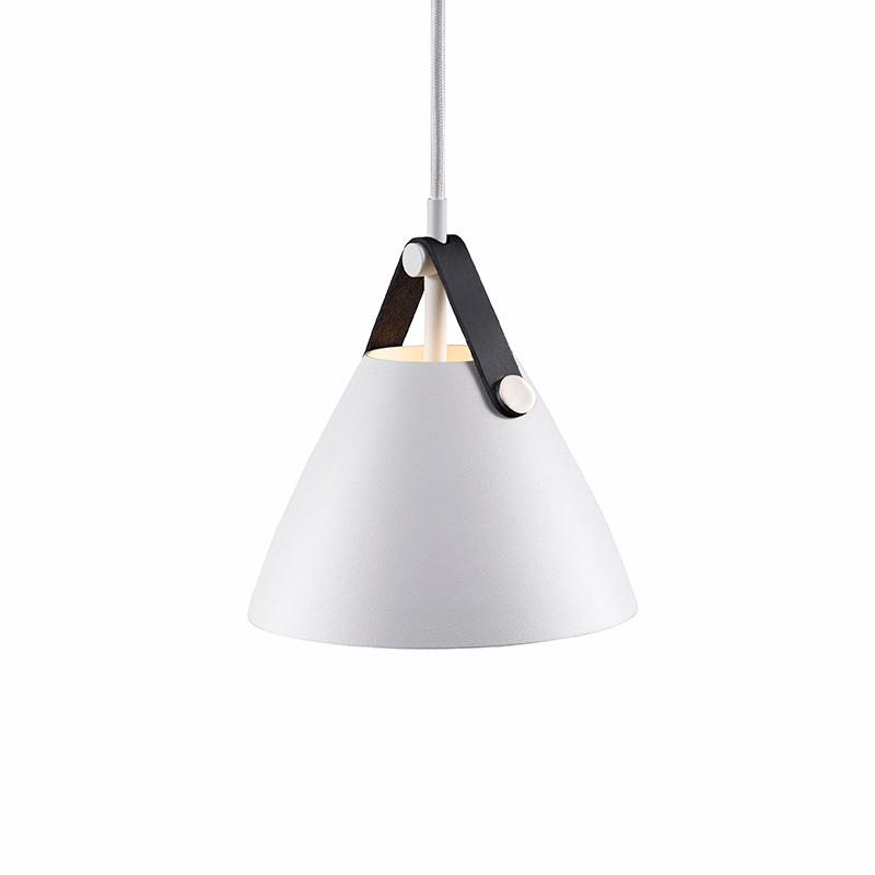 Strap 16 pendel lampe hvid nordlux k b online for Lampen nordlux