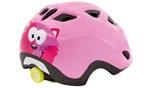 Met Børne Cykelhjelm Elfo/Genio Pink/kat