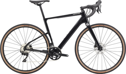 Cannondale Topstone Carbon 105 | Gravelcykel | BLACK PEARL
