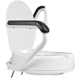 Toiletforhøjer med armlæn