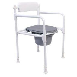 Bad og Toiletstol - Foldbar