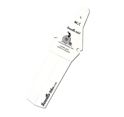 Bagskærm Sencillo Hvid