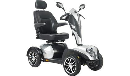 EasyGO L4B+ 4-hjulet el-scooter, Sølv