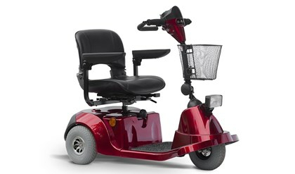 EasyGO M3Bjr El-scooter Rød