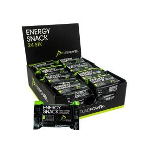PurePower energy snack - æske med 24 stk