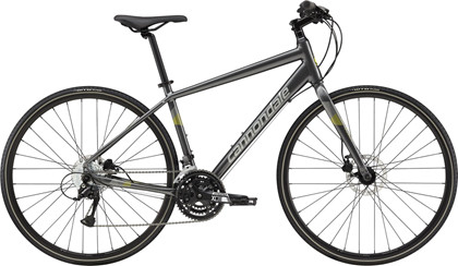 Cannondale Quick Disc 5 | Citybike CHARCOAL GRAY | Large