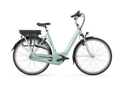 GAZELLE Elcykel ORANGE C7+ HMB | Pale green blank | Dame | Guld batteri