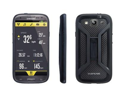 ToPeak RideCase, Samsung Galaxy S3 - Sort Vandtæt Taske