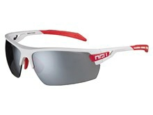 AGU cykelbrille Foss hvid/rød