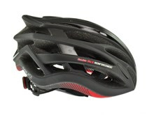 AGU HJELM TESERO RACE BLACK/RED