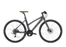 "Centurion Zero Dame Citybike | Claris 8g Hydr. disc | Stelstr. 20,5"" Grå sølv m/gul"