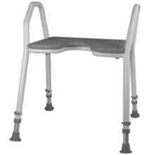 Badebænk 42 cm - grå
