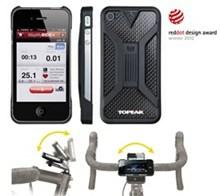 ToPeak RideCase II, Iphone 4/4S - Sort Vandtæt Taske
