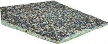 Skråpude uden betræk - 8 cm