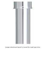 Minipumpe til racercyklen - Pumpe RaceRocket HPX Sølv 25cm