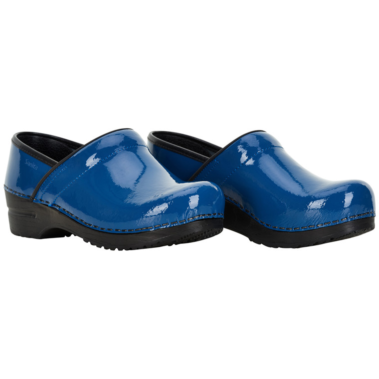 SANITA PATENT CLOGS 457406W 29