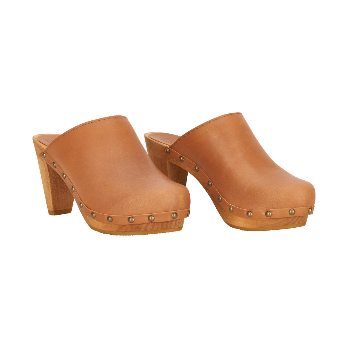 Sanita ATHENA - Clogs - nature P8naWg6