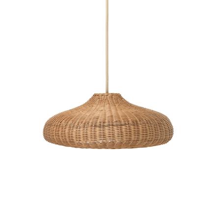 Ferm Living Braided Lampshade, lampeskærm i natur