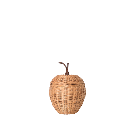 Ferm Living Apple Braided Storage i small, opbevaringskurv
