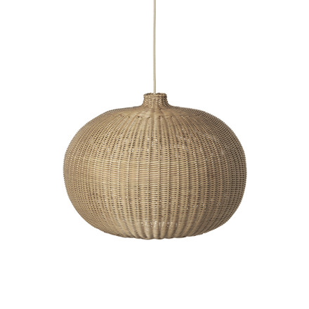Ferm Living Braided Belly Lamp shade, lampeskærm