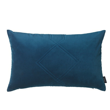 Louise Roe Diamond Quilted Velour pude