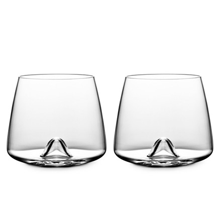 Normann Copenhagen Whiskey glas, 2 stk.