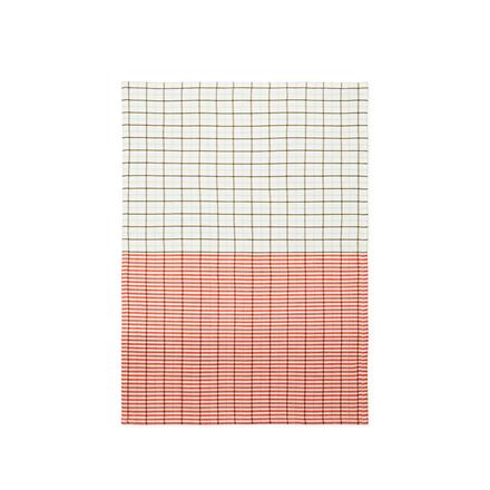 Normann Copenhagen Ren viskestykke, Stripe Grid