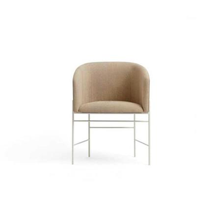 New Works Covert Chair spisestol,  beige trevira