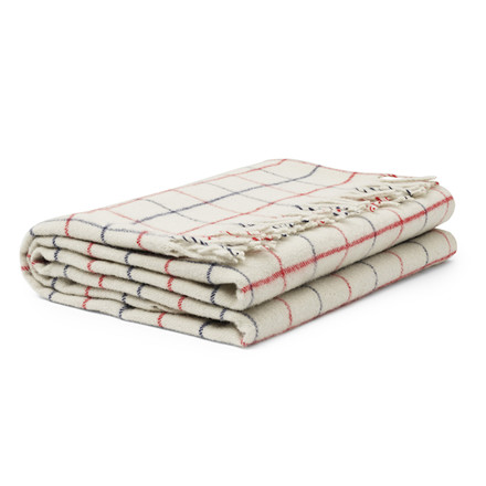 Tivoli By Normann Cph Throw Blanket Simple Check