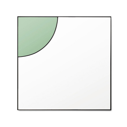 Tivoli By Normann Cph Tivoli Mirage Spejl i grøn