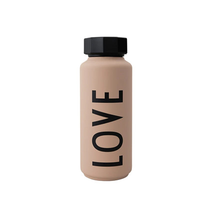 Design Letters Termo flaske, Nude