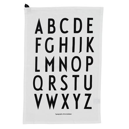 Design Letters viskestykke