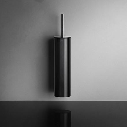 Unidrain Reframe toiletbørste t/ophæng, sort