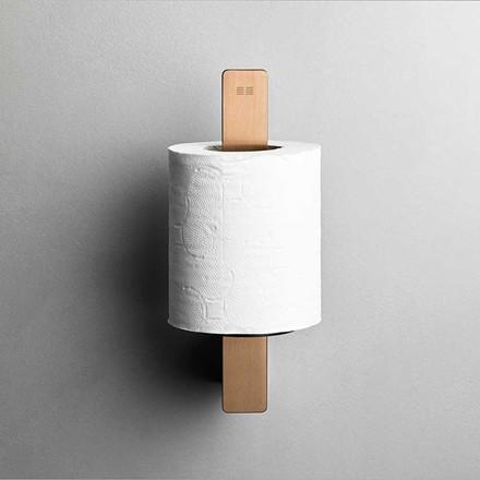 Unidrain Reframe toiletrulleholder t/reserve, kobber