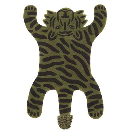 Ferm Living Safari gulvtæppe, tiger