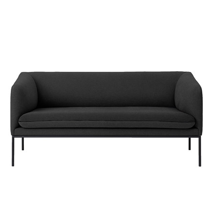 Ferm Living Turn 2-personers sofa i bomuld
