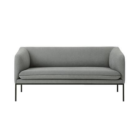 Ferm Living Turn 2-personers sofa i uld