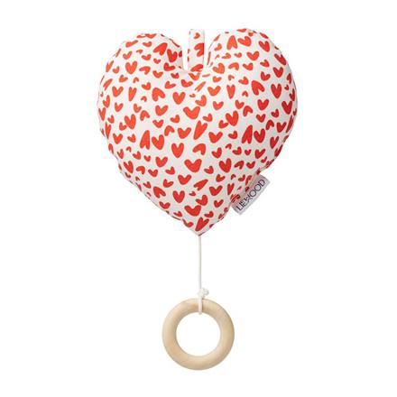 Liewood Alma Music Mobile Heart Love m/ hjerter