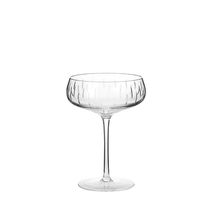 Louise Roe Coupe champagneglas, clear